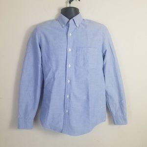 J Crew Slim Fit Vintage Oxford Button Down Shirt